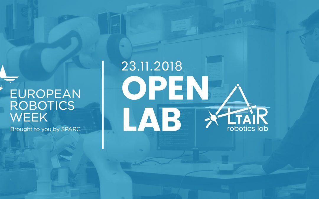 European Robotics Week 2018