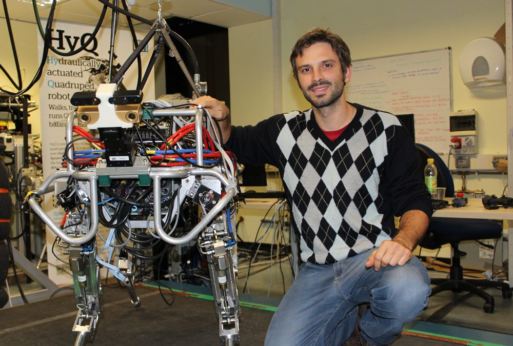 Locomotion strategies for quadruped robots – a seminar with Michele Focchi